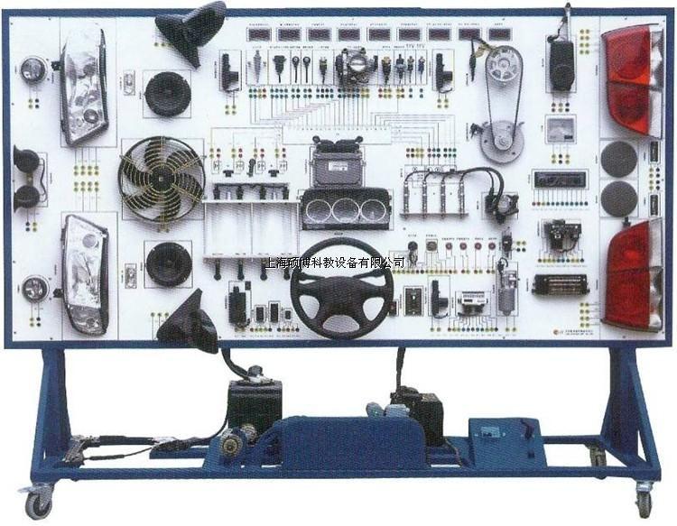 长丰猎豹cs6汽车全车电器实训台